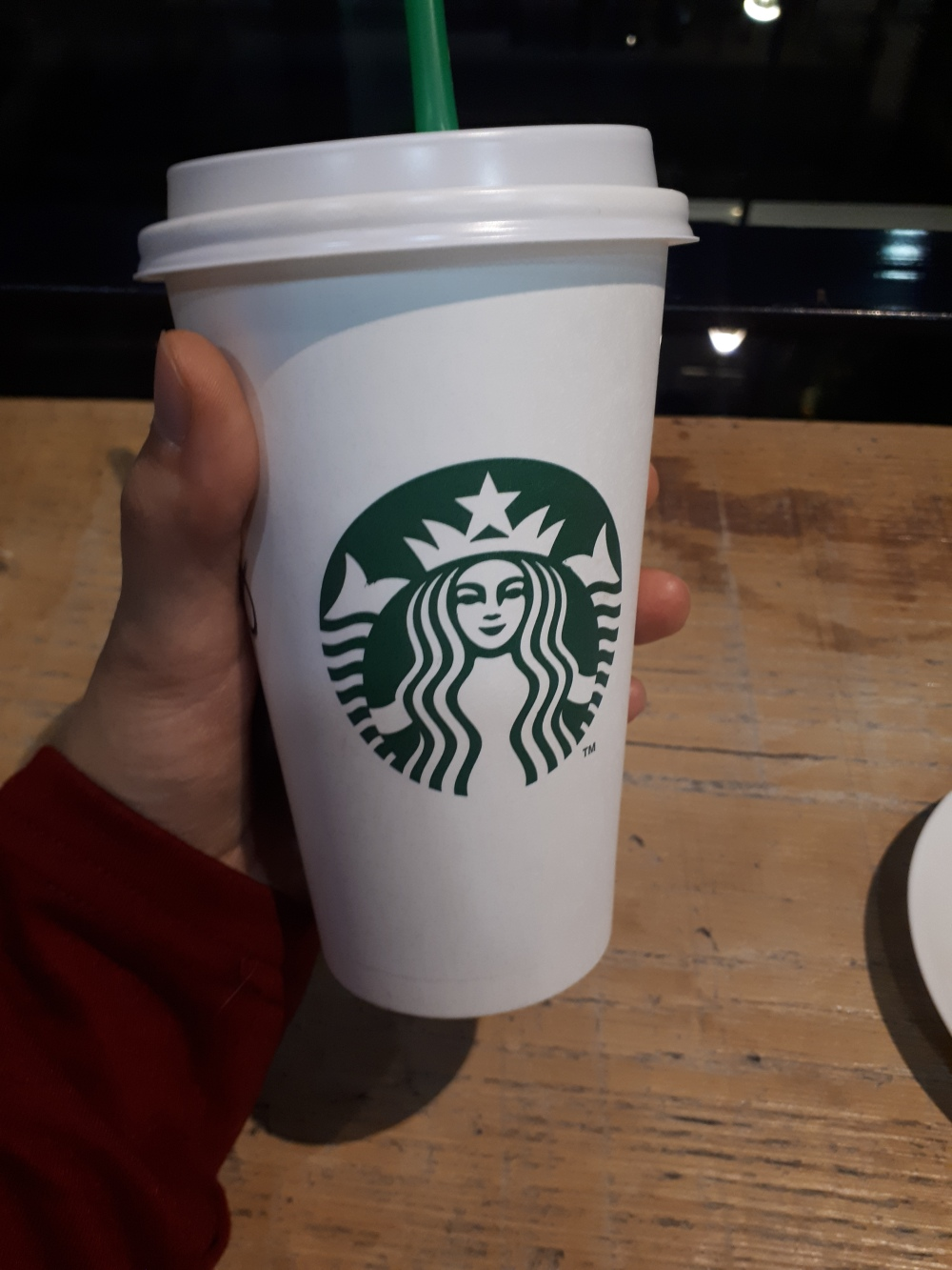 Angella Bloody Starbuck coffee