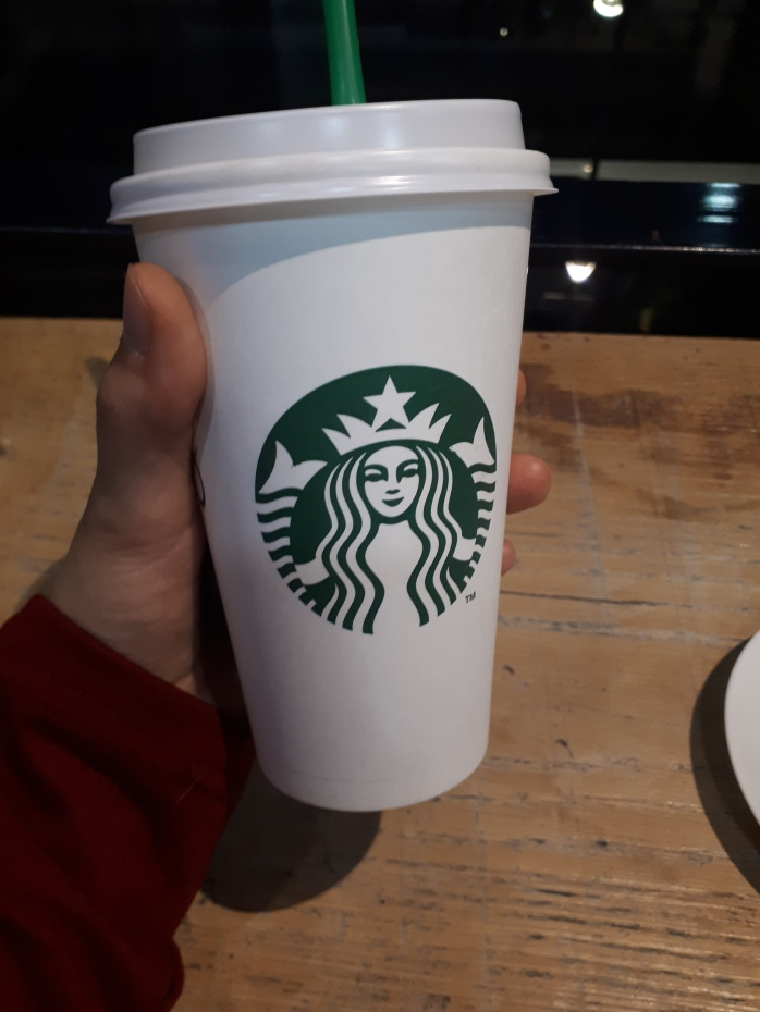 Angella Bloody Starbuck coffee